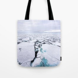 Sea Ice Tote Bag