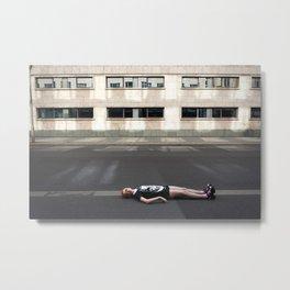 Wait in Berlin Metal Print