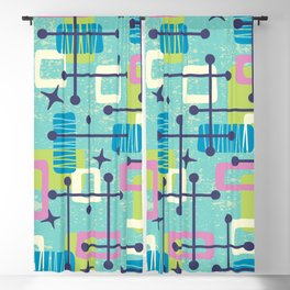 Mid Century Modern Abstract Pattern 835 Blackout Curtain