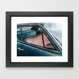 BEDSTUY / Brooklyn, New York City Framed Art Print