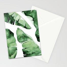 Tropical Banana Leaf Stationery Cards