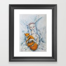 The Fox Queen Framed Art Print
