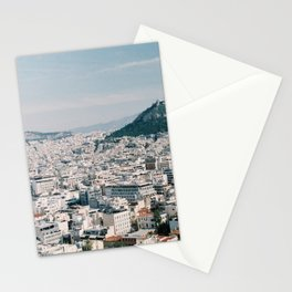 View from the Parthenon in Athens, Greece Stationery Cards