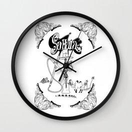 Sahara Shisha Wall Clock