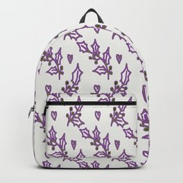 Holly Berries In The Snow Backpack