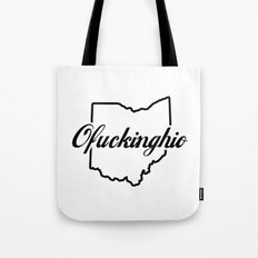 Ofuckinghio (plain) Tote Bag