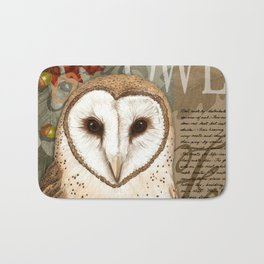 The Barn Owl Journal Bath Mat