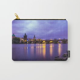 Blue Mornings Carry-All Pouch