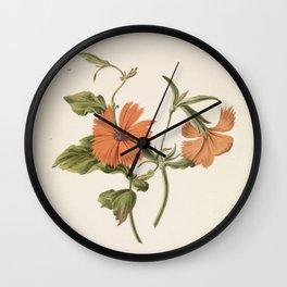 M. de Gijselaar - Yellow Chinese rose (1820) Wall Clock