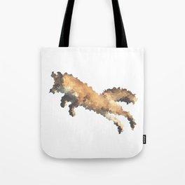 Penrose Tiling Fox  Tote Bag