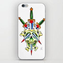 Skull & Dagger iPhone Skin