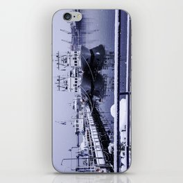 Boatyard Ushuaia - the the southernmost city in the world iPhone Skin