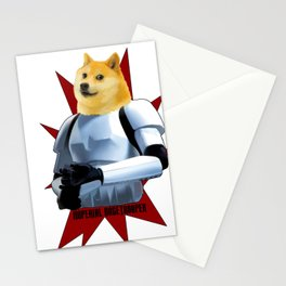 Imperial Dogetrooper Stationery Cards