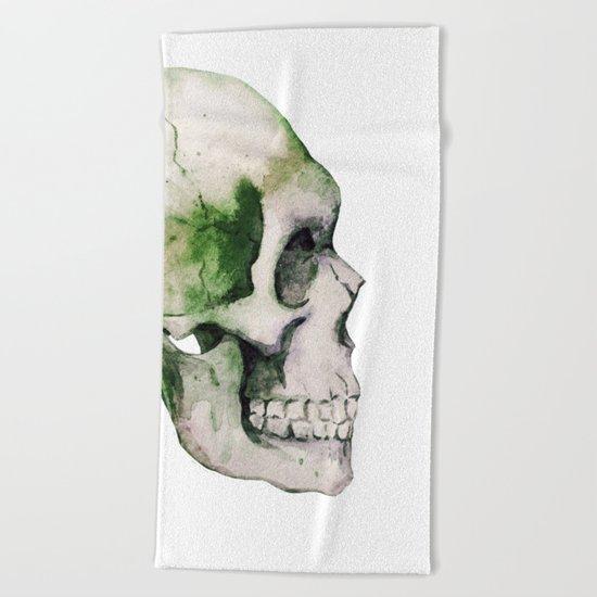 Skull 06 Beach Towel
