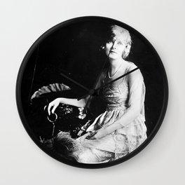 1920s Silent Film Actress Portrait: Sarah-Blanche Sweet Wall Clock