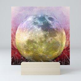 MOON under MAGIC SKY III-1 Mini Art Print