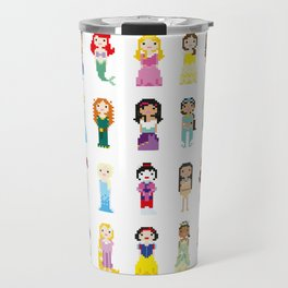 Pixel Princesses Travel Mug