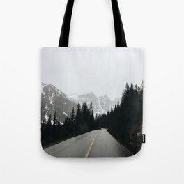Moraine Lake Road Tote Bag