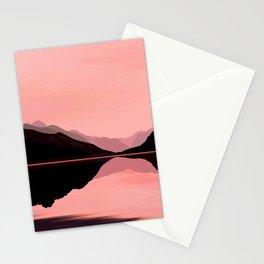 Blushing Lake Stationery Cards