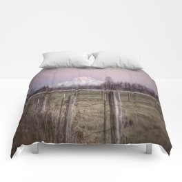 Country Fences Comforters