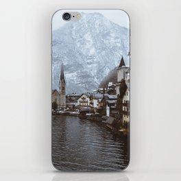 Winter in Hallstatt iPhone Skin
