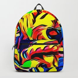 Havapoo Color Splash Art Backpack