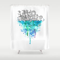From the Deep, Deep Down. Shower Curtain