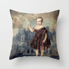 Fly Birdie Fly Throw Pillow