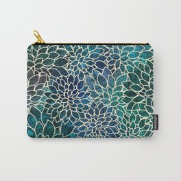 Floral Abstract 4 Carry-All Pouch