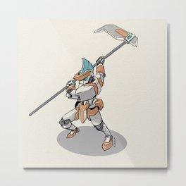 Knight Robo GAMMA Metal Print
