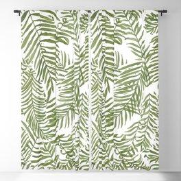 Areca Palm Pattern Blackout Curtain