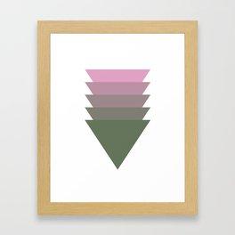 006 - Pink tree Framed Art Print