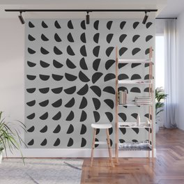Half Moon Pattern Wall Mural
