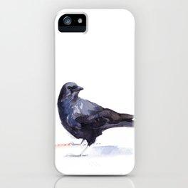 Crow #3 iPhone Case