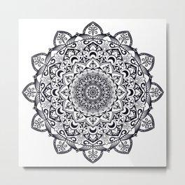 Mandala 001 Metal Print