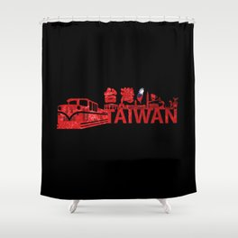 Welcom to Taiwan Shower Curtain