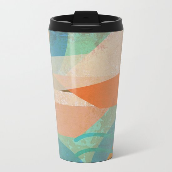 Genova Metal Travel Mug
