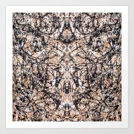 Reflecting Pollock Art Print