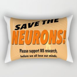SAVE THE NEURONS! Rectangular Pillow