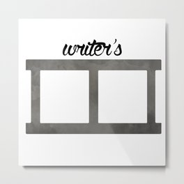Writer's Block Metal Print
