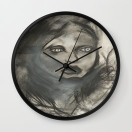 The Art of Self-Doubt Wall Clock