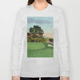Pebble Beach Golf Course 5th Hole Long Sleeve T-shirt