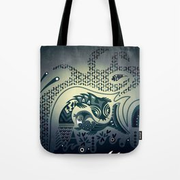 Midnight swirls Tote Bag
