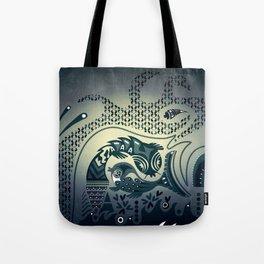 Midnight swirls Tote Bag
