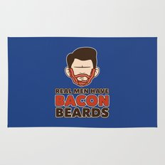 Bacon Beard (men's version) Rug