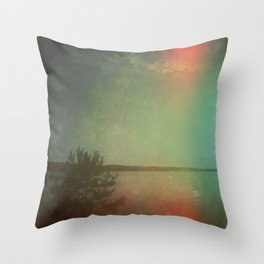 The Land I Wander in My Dreams Throw Pillow