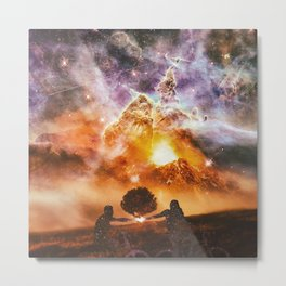 INFINITE WORLD #3 Metal Print