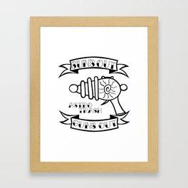 Sun's Out Guns Out Framed Art Print
