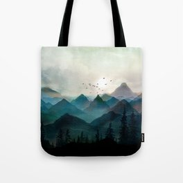 Mountain Sunrise II Tote Bag