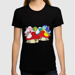 smurf village T-shirt